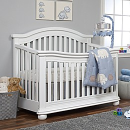 Sorelle Vista Elite 4-in-1 Convertible Crib in White