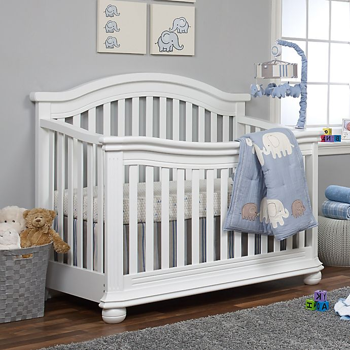 Alternate image 1 for Sorelle Vista Elite 4-in-1 Convertible Crib in White