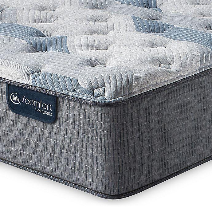 Alternate image 1 for Serta® iComfort® Blue Hybrid 200 Plush Low Profile Queen Mattress Set