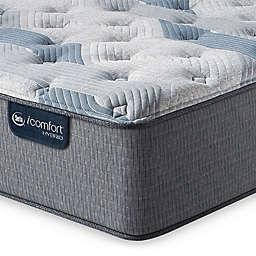 Serta® iComfort® Blue Hybrid 200 Plush Low Profile Mattress Set