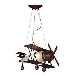 ELK Lighting 1-Light Biplane Fighter Pendant