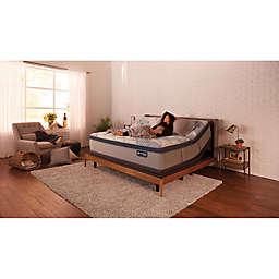 Serta® iComfort® PillowSoft™ Blue Hybrid 300 Pillowtop Mattress Set
