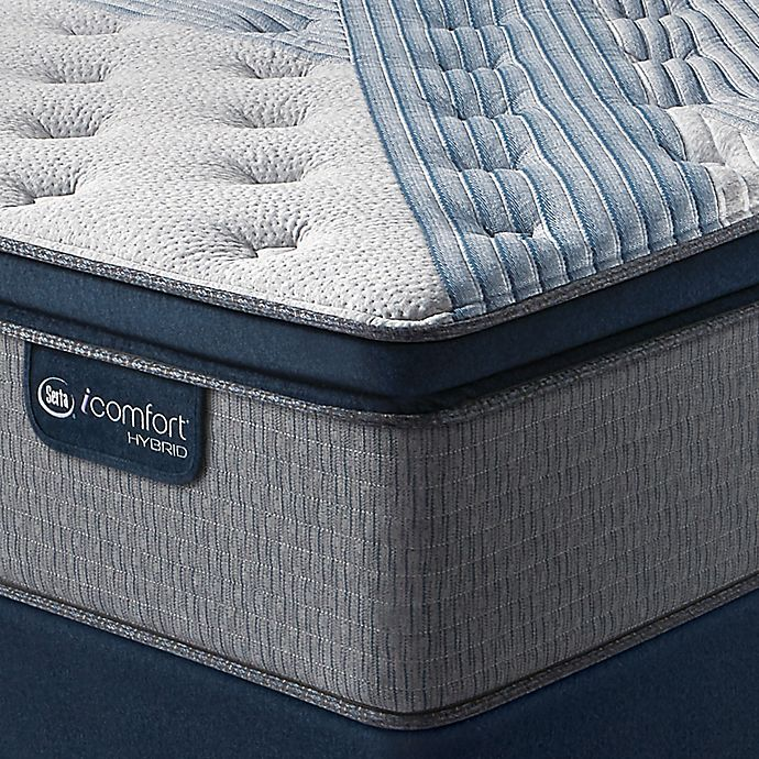 Alternate image 1 for Serta® iComfort® Blue Hybrid 5000 Pillow Top Full Mattress Set