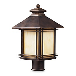 ELK Lighting Blackwell One-Light Outdoor Post Light