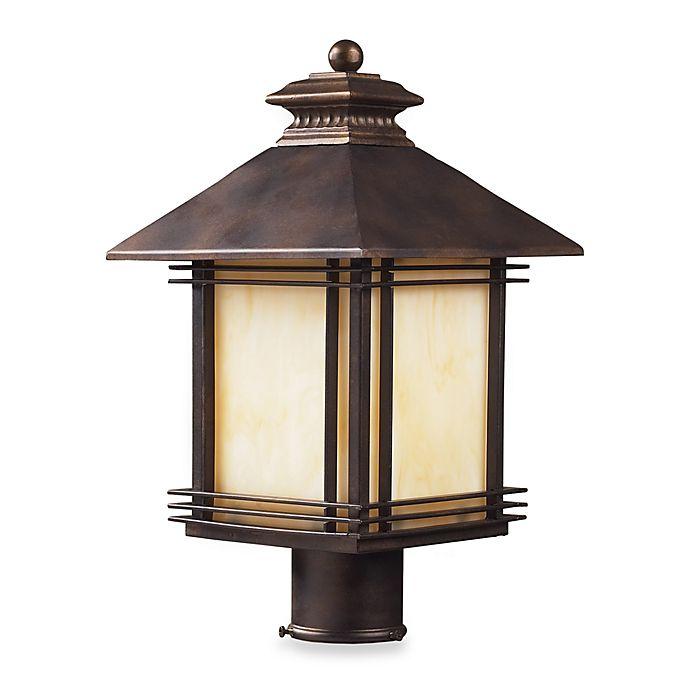 Alternate image 1 for ELK Lighting Blackwell One-Light Outdoor Post Light