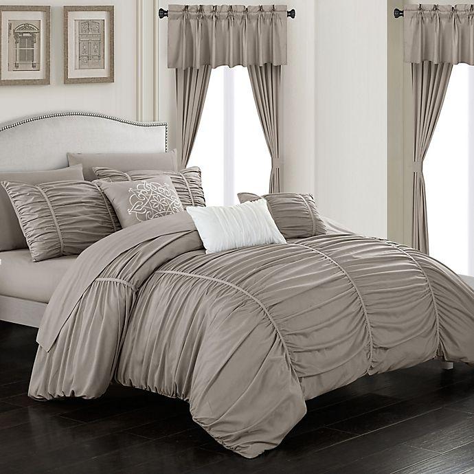 Alternate image 1 for Chic Home Gruyeres 20-Piece Comforter Set