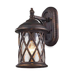 ELK Lighting Barrington Gate One-Light 7-Inch x 13-Inch Outdoor Sconce