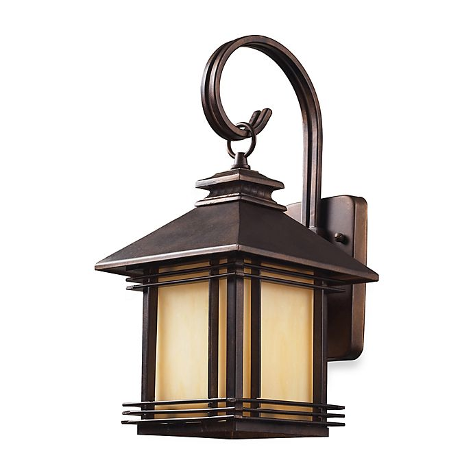 Elk Lighting Blackwell One Light 8 Inch Outdoor Wall Sconce