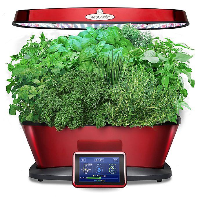 Alternate image 1 for AeroGarden™ Bounty Elite Home Gardening System in Red