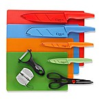 Ozeri® Stainless Steel Knife & Cutting Mat Set