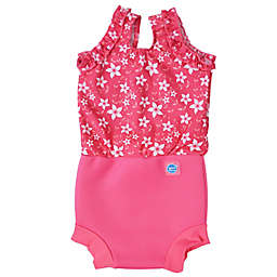 Splash About Happy Nappy™ Blossom Swimsuit in Pink