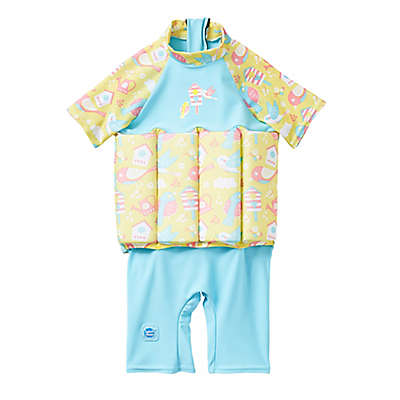 Splash About UV Float Suit in Garden Birds