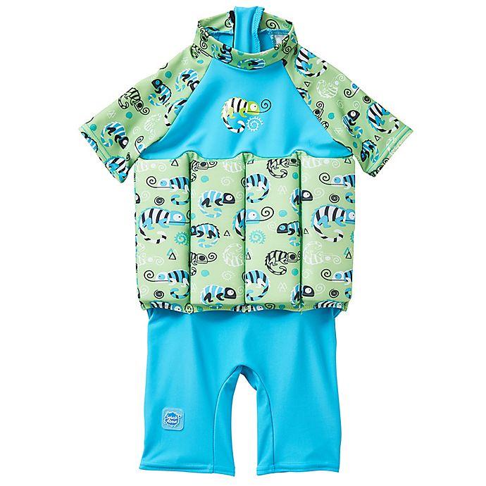Alternate image 1 for Splash About UV Float Suit in Green Gecko