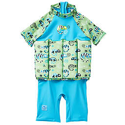Splash About UV Float Suit in Green Gecko