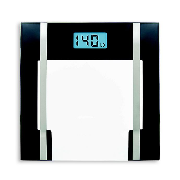 Alternate image 1 for BIOS Glass Lithium Body Fat Scale