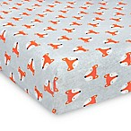 Gerber® Fox Fitted Jersey Crib Sheet