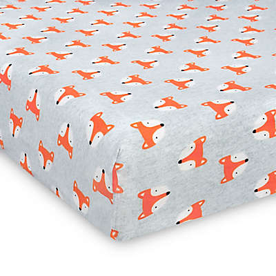 Gerber® Fitted Jersey Crib Sheet