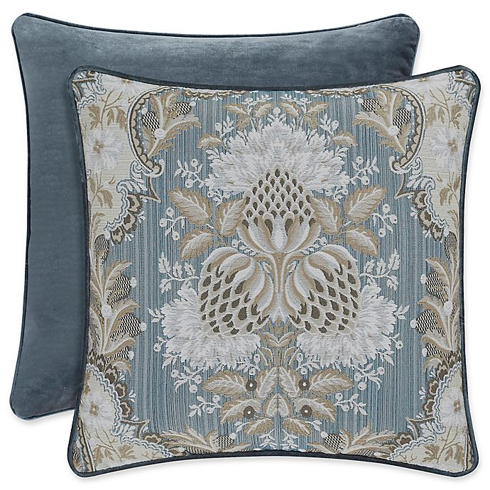 Alternate image 1 for J. Queen New York™ Crystal Palace Throw Pillow in French Blue