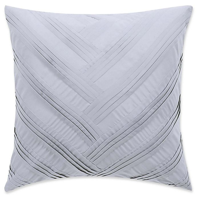 Vince Camuto 174 Esti Floral Pleated Throw Pillow Bed Bath