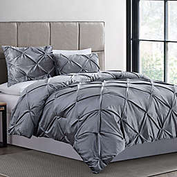Crushed Velvet Comforter Set
