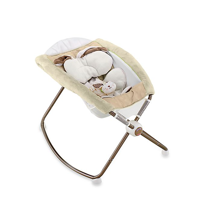 Newborn Rock N Play Sleeper In Snugabunny Buybuy Baby
