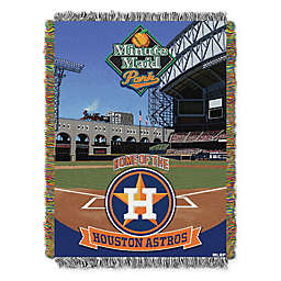 MLB Houston Astros Home Stadium Woven Tapestry Throw Blanket