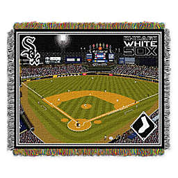 MLB Chicago White Sox Home Stadium Woven Tapestry Throw Blanket