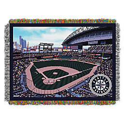 MLB Seattle Mariners Home Stadium Woven Tapestry Throw Blanket