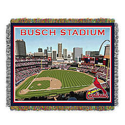 MLB St. Louis Cardinals Home Stadium Woven Tapestry Throw Blanket