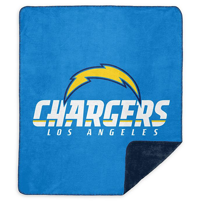 San Diego Chargers Blanket: NFL San Diego Chargers Denali Sliver Knit Throw Blanket