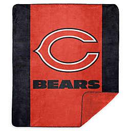 NFL Chicago Bears Denali Sliver Knit Throw Blanket