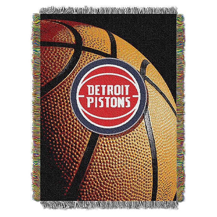 Alternate image 1 for NBA Photo Real Tapestry Throw Blanket Collection