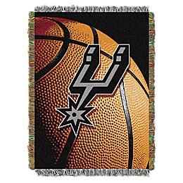 NBA San Antonio Spurs Photo Real Tapestry Throw Blanket