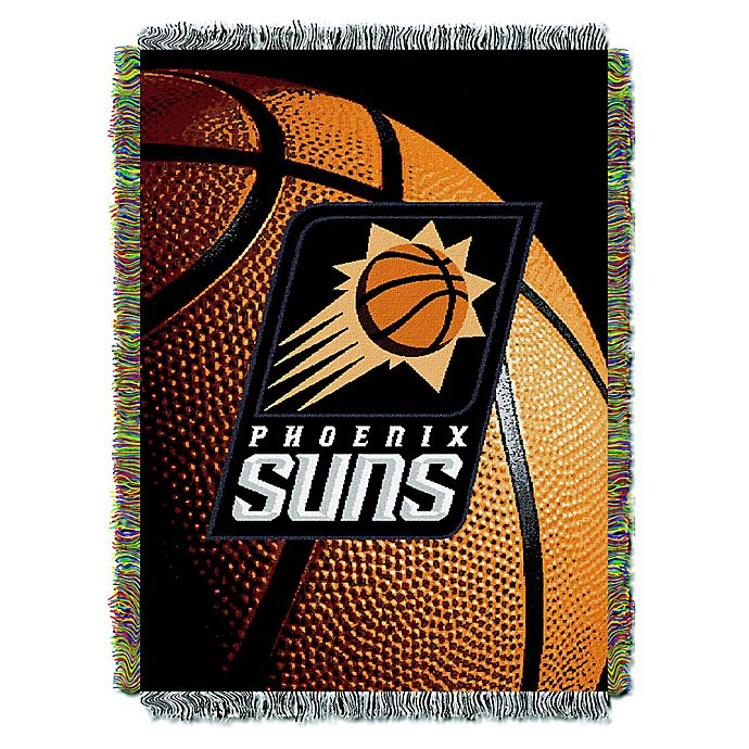 Alternate image 1 for NBA Phoenix Suns Photo Real Tapestry Throw Blanket