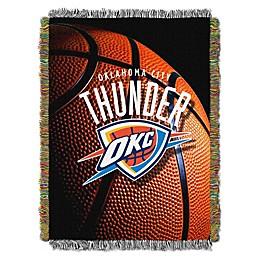 NBA Oklahoma City Thunder Photo Real Tapestry Throw Blanket