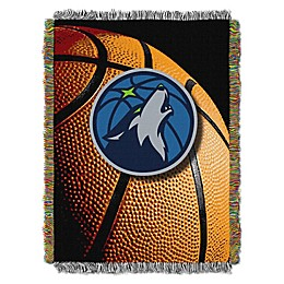 NBA Minnesota Timberwolves Photo Real Tapestry Throw Blanket
