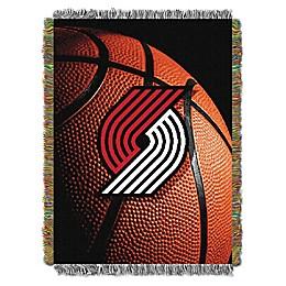 NBA Portland Trailblazers Photo Real Tapestry Throw Blanket