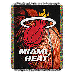 NBA Miami Heat Photo Real Tapestry Throw Blanket