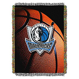 NBA Dallas Mavericks Photo Real Tapestry Throw Blanket