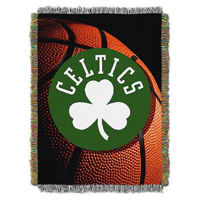 Alternate image 1 for NBA Boston Celtics Photo Real Tapestry Throw Blanket