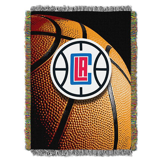 Alternate image 1 for NBA Los Angeles Clippers Photo Real Tapestry Throw Blanket