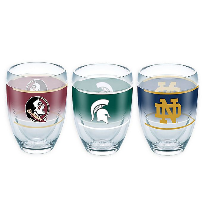 Alternate image 1 for Tervis® Collegiate Original 9 oz. Stemless Wine Glass