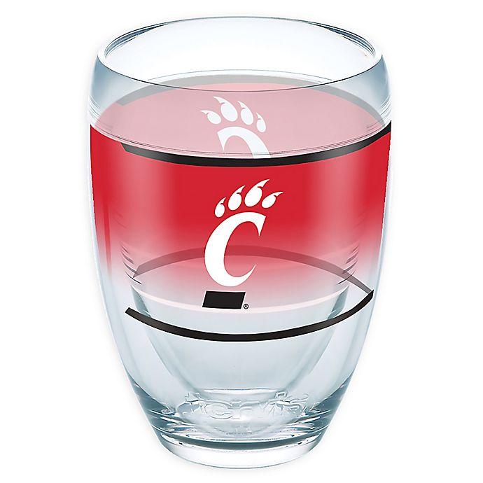Alternate image 1 for Tervis® University of Cincinnati Original 9 oz. Stemless Wine Glass