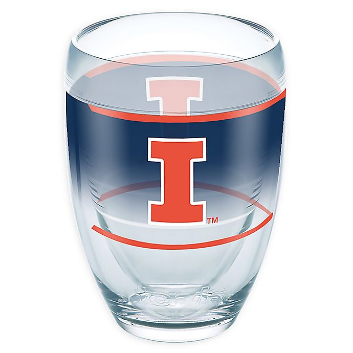Alternate image 1 for Tervis® University of Illinois Original 9 oz. Stemless Wine Glass
