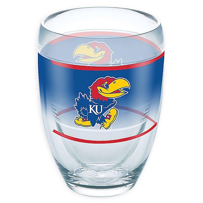 Alternate image 1 for Tervis® University of Kansas Original 9 oz. Stemless Wine Glass