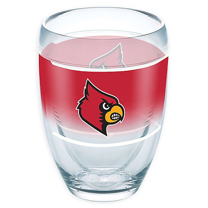 Alternate image 1 for Tervis® University of Louisville Original 9 oz. Stemless Wine Glass