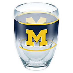Tervis® University of Michigan Original 9 oz. Stemless Wine Glass