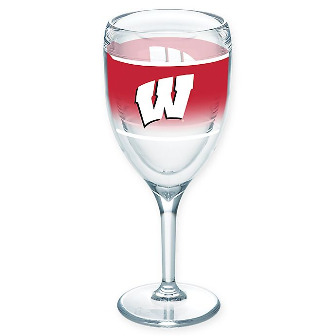 Alternate image 1 for Tervis® University of Wisconsin Original 9 oz. Wine Glass