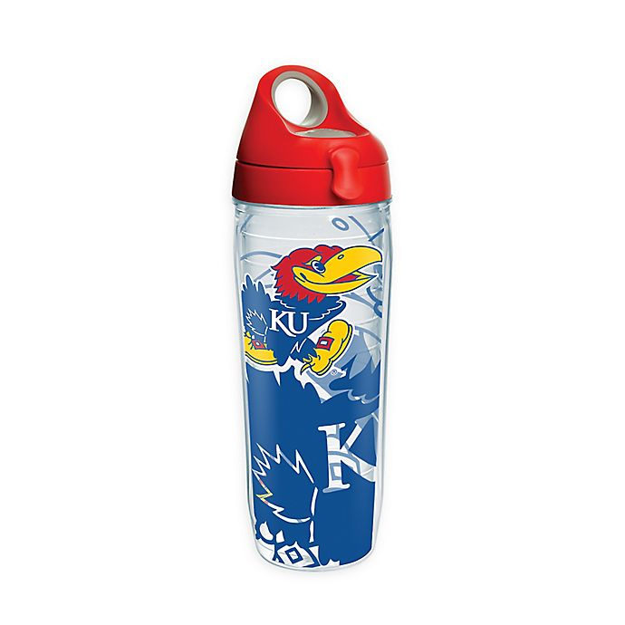 Alternate image 1 for Tervis® University of Kansas Genuine 24 oz. Wrap Water Bottle