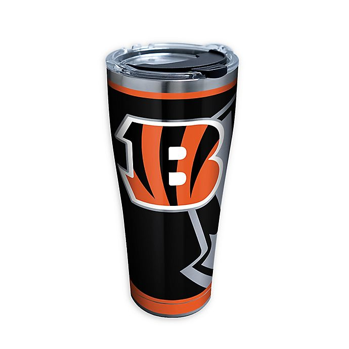 Alternate image 1 for Tervis® NFL Cincinnati Bengals Rush 30 oz. Stainless Steel Tumbler with Lid